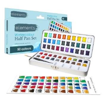 Elements Watercolour HP 50s