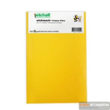 "Etchmask Stencil Vinyl 9x15"""