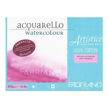 NEW Fabrinao Artistico Block - 23x30.5cm - Hot Pressed
