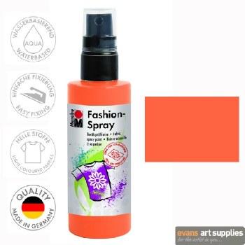 Marabu 100ml Fashion Spray Tangerine 225