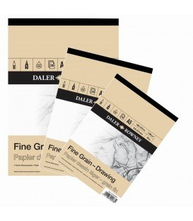 Daler Rowney Fine Grain Drawing Pad A4 120gsm