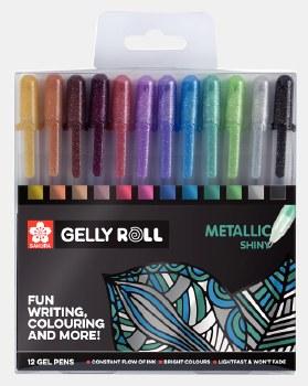 Gelly Roll Metallic Set of 12