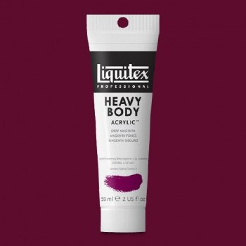 LIQUITEX HEAVY BODY 59ML DEEP MAGENTA