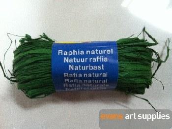 Maildor Natural Raffia Green