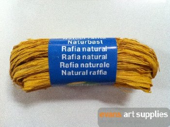 Maildor Natural Raffia Lemon