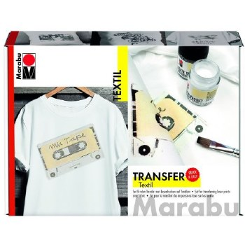 MARABU TEXTILE TRANSFER SET