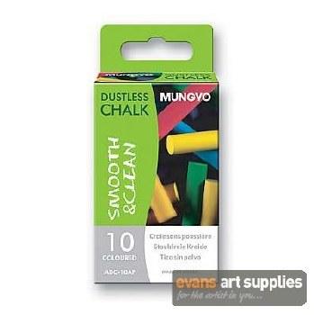 Mungyo Coloured Chalk 12s