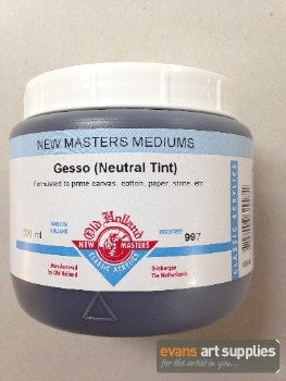 New Masters 500ml Neutral Tint Gesso