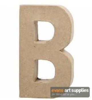 Papier Mache Large Letter B