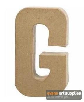 Papier Mache Large Letter G