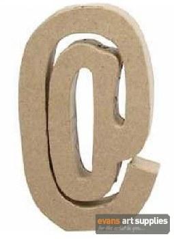 Papier Mache Large Sign &