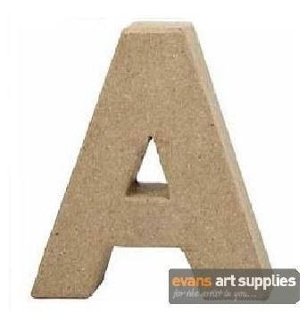 Papier Mache Small Letter A