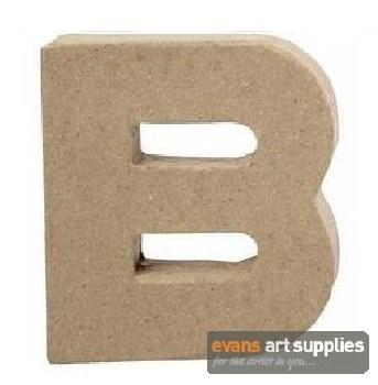 Papier Mache Small Letter B