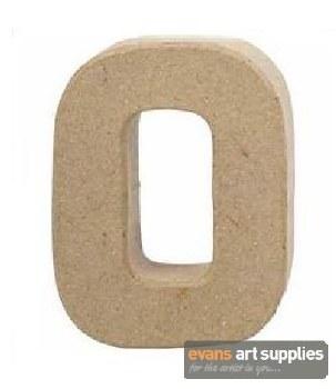 Papier Mache Small Letter O