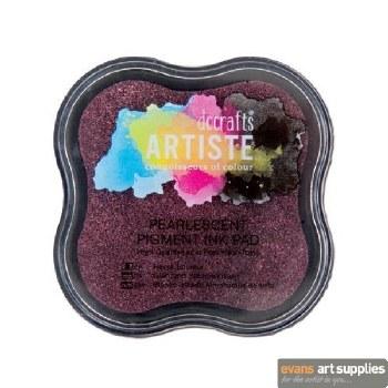 Pigment Ink Pad Pearl Dusky R*