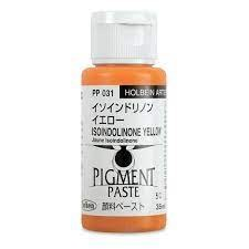 Holbein 35ml Pigment Paste Isoindolinone Yellow