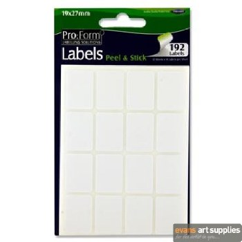 Pro:Form 19x27mm 192 labels