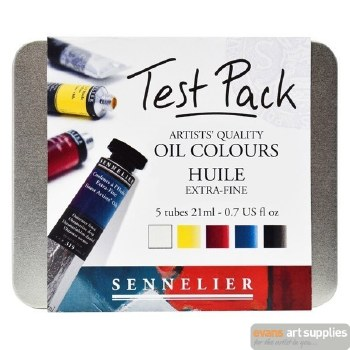 Sennelier Test Pack Oil Colour