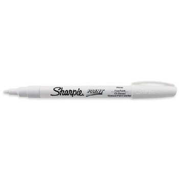 Sharpie Oil-Based Paint Marker Fine Tip - White