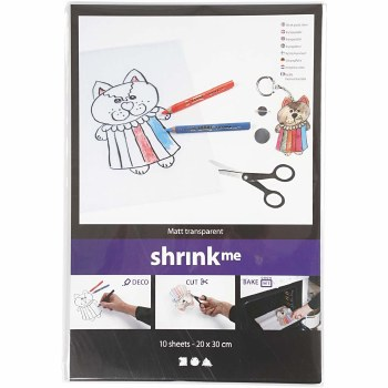 Shrink Plastic 20x30cm 10s