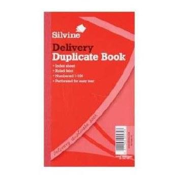 Silvine 613 Delivery Book 8x5
