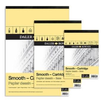 Daler Rowney Smooth Cartridge Pad A4 130gsm