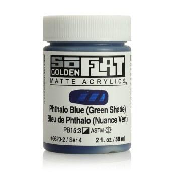 Golden SoFlat 59ml Phthalo Blue Green Shade
