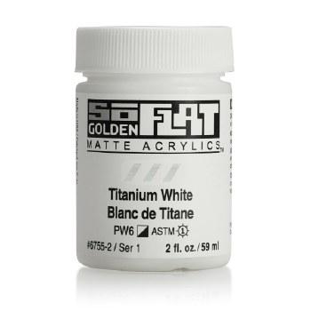 Golden SoFlat 59ml Titanium White