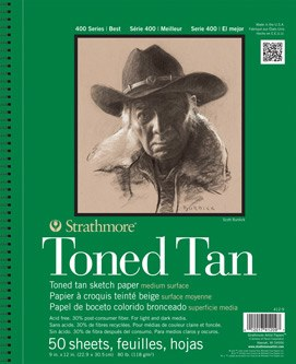 Strathmore Toned Tan 28x35.6