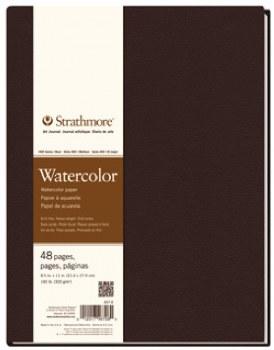 "Strathmore 400 Series - Watercolour Art Journal 8.5"" x 11"""