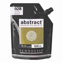 Abstract 500ml Iridescent Gold