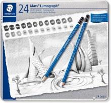 Mars Lumograph Tin 24