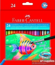 Watercolour Pencils 24s