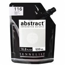 Abstract 500ml Titanium White