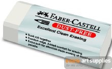 DUST FREE PVC ERASER
