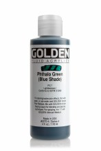 Golden Fluid 118ml Phthalo Green Blue Shade