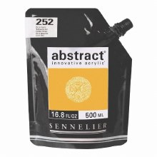 Abstract 120ml Yellow Ochre