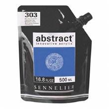 Abstract 500ml Cobalt Blue