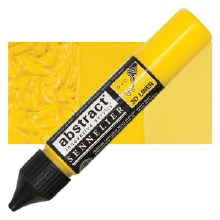 Abstract 3D Liner - 574 Primary Yellow