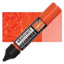 Abstract 3D Liner - 615 Cadmium Red Orange Hue
