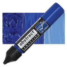 Abstract 3D Liner - 314 Ultramarine Blue