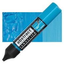 Abstract 3D Liner - 320 Azure Blue