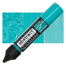 Abstract 3D Liner - 341 Turquoise