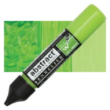 Abstract 3D Liner - 871 Bright Yellow Green