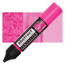 Abstract 3D Liner - 654 Fluorescent Pink