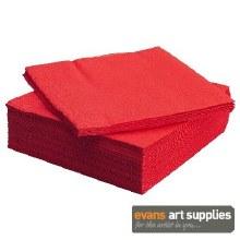 Napkin 33cm 2ply Red 100*