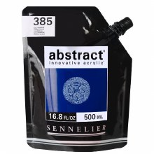 Abstract 500ml Primary Blue