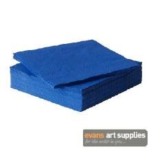 Napkin 38cm 2ply Blue 100*