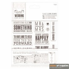 """5x5"""" Clear Stamps - Wedding*"""