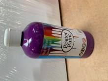 500ml Poster Paint Purple
